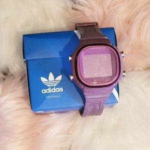 Purple Adidas Sports Watch
